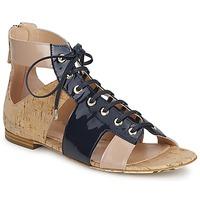 Boty Ženy Sandály John Galliano AN6379 Modrá / Béžová / Růžová