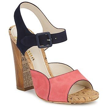 Boty Ženy Sandály John Galliano AN3571 Růžová / Tmavě modrá