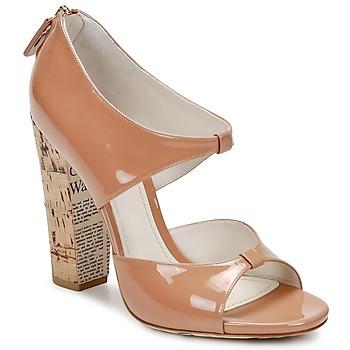 Boty Ženy Sandály John Galliano AN6364 Růžová / Béžová