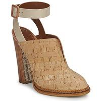 Boty Ženy Pantofle John Galliano AN9211 Béžová