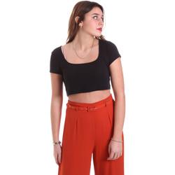 Textil Ženy Halenky / Blůzy Vicolo UK0291 Černá
