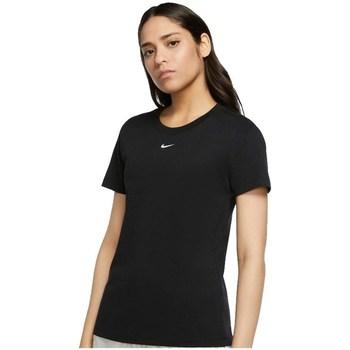 Textil Ženy Trička s krátkým rukávem Nike Essential Tee Černé