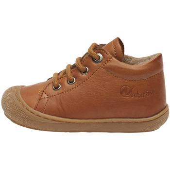 Boty Děti Kotníkové boty Naturino 2012889 31 Hnědý