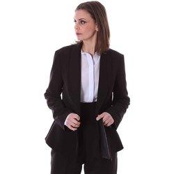 Textil Ženy Saka / Blejzry Lizalu F162YALC3649 Modrý
