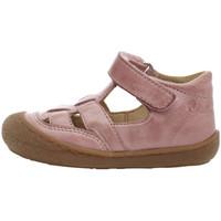 Boty Děti Sandály Naturino 2013292 01 Růžový