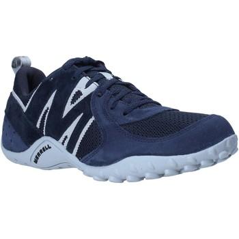 Boty Muži Nízké tenisky Merrell J598439 Modrý