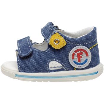 Boty Děti Sandály Falcotto 1500824 01 Modrý