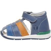 Boty Děti Sandály Falcotto 1500862 01 Modrý