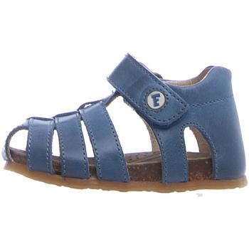 Boty Děti Sandály Falcotto 1500736 01 Modrý