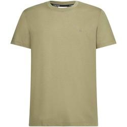 Textil Muži Trička s krátkým rukávem Calvin Klein Jeans K10K107088 Zelený