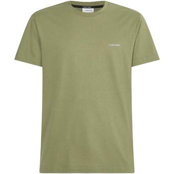 Textil Muži Trička s krátkým rukávem Calvin Klein Jeans K10K103307 Zelený