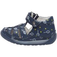 Boty Děti Sandály Falcotto 1500726 16 Modrý
