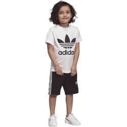 Textil Děti Obleky a kravaty  adidas Originals DW9709 Bílý