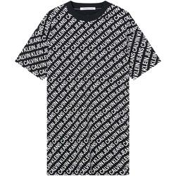 Textil Ženy Šaty Calvin Klein Jeans J20J215678 Černá