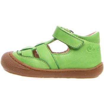 Boty Děti Sandály Naturino 2013292 01 Zelený