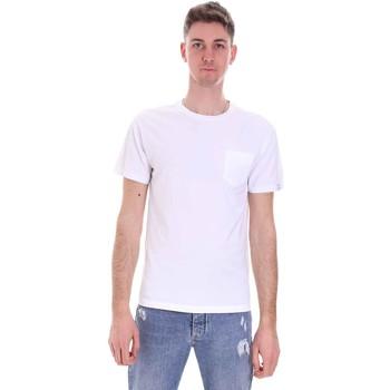 Textil Muži Trička s krátkým rukávem Replay M3350 .000.23100G Bílý