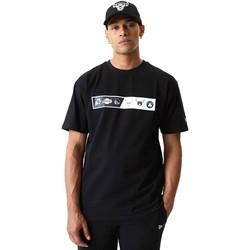 Textil Muži Trička s krátkým rukávem New-Era 12553333 Černá