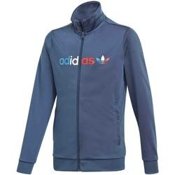 Textil Děti Bundy adidas Originals GN7437 Modrý
