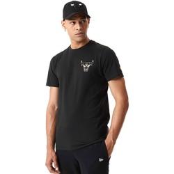 Textil Muži Trička s krátkým rukávem New-Era 12590868 Černá