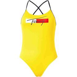 Textil Ženy Plavky / Kraťasy Tommy Hilfiger UW0UW02945 Žlutá