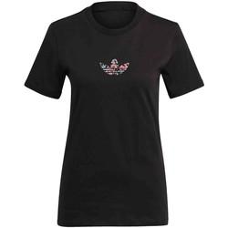 Textil Ženy Trička s krátkým rukávem adidas Originals GN3043 Černá
