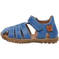 Boty Děti Sandály Naturino 1500724 01 Modrý