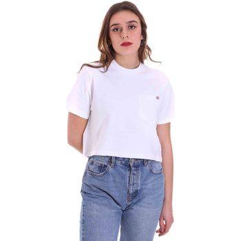 Textil Ženy Trička s krátkým rukávem Dickies DK0A4XDEWHX1 Bílý