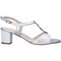 Boty Ženy Sandály Melluso K95350 Stříbrný