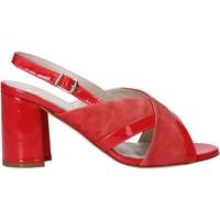 Boty Ženy Sandály Melluso HS530 Červené