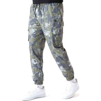 Textil Muži Kalhoty New-Era 12590879 Zelený