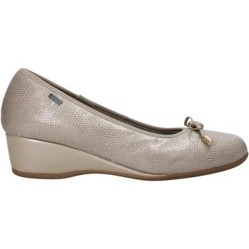 Boty Ženy Baleríny  Melluso H08123 Béžový
