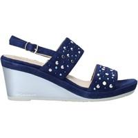 Boty Ženy Sandály Melluso HR70531 Modrý