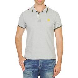 Textil Muži Polo s krátkými rukávy A-style LIVORNO Šedá