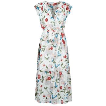 Textil Ženy Společenské šaty Moony Mood OLICA Bílá