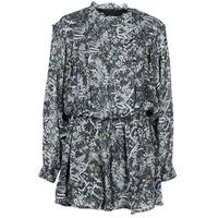 Textil Ženy Overaly / Kalhoty s laclem Ikks PETRI Šedá