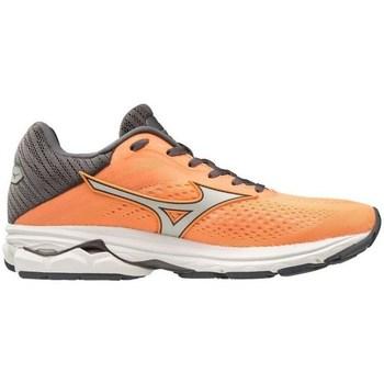 Boty Ženy Šněrovací polobotky  & Šněrovací společenská obuv Mizuno Wave Rider 23 Šedé, Oranžové
