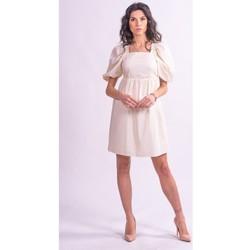 Textil Ženy Krátké šaty Fracomina F321SD1004W40001 Bezbarvý