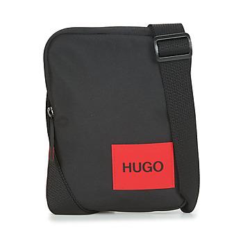 Taška Muži Malé kabelky HUGO Ethon_NS zip Černá
