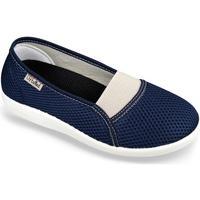 Boty Ženy Papuče Mjartan Dámske modré papuče  DENISA modrá