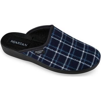 Boty Ženy Papuče Mjartan Dámske modré papuče  LINES tmavomodrá