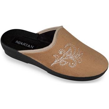 Boty Ženy Papuče Mjartan Dámske béžové papuče  CAMILIA ťavia