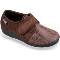 Boty Ženy Papuče Mjartan Dámske hnedé papuče  EMMA ťavia