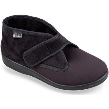 Boty Muži Papuče Mjartan Pánske čierne papuče  DUSAN čierna