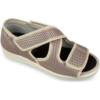 Boty Ženy Papuče Mjartan Dámske béžové papuče  CALEY béžová