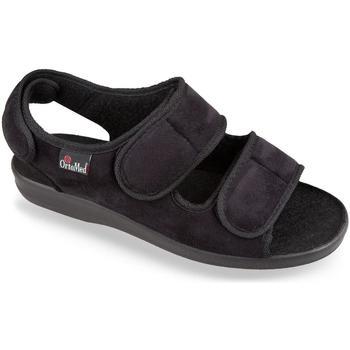 Boty Muži Papuče Mjartan Pánske čierne papuče  CALOT čierna