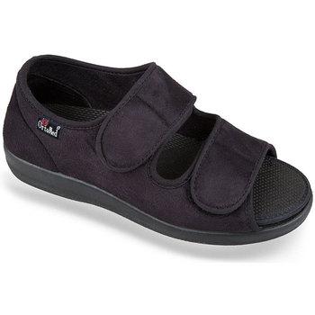 Boty Ženy Papuče Mjartan Dámske čierne papuče  ORTENZIA čierna