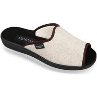 Boty Ženy Papuče Mjartan Dámske béžové papuče  ADELA béžová
