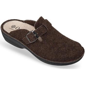 Boty Ženy Papuče Mjartan Dámske hnedé papuče  DORI hnedá