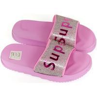 Boty Dívčí pantofle John-C Detské ružové šľapky SUPER ružová