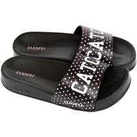 Boty Ženy pantofle Wink Dámske čierne šľapky CATCH čierna